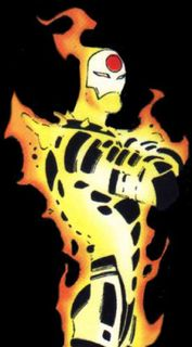 The Age of Apocalypse had some great redesigns, like this Joe Madureira version of Sunfire.